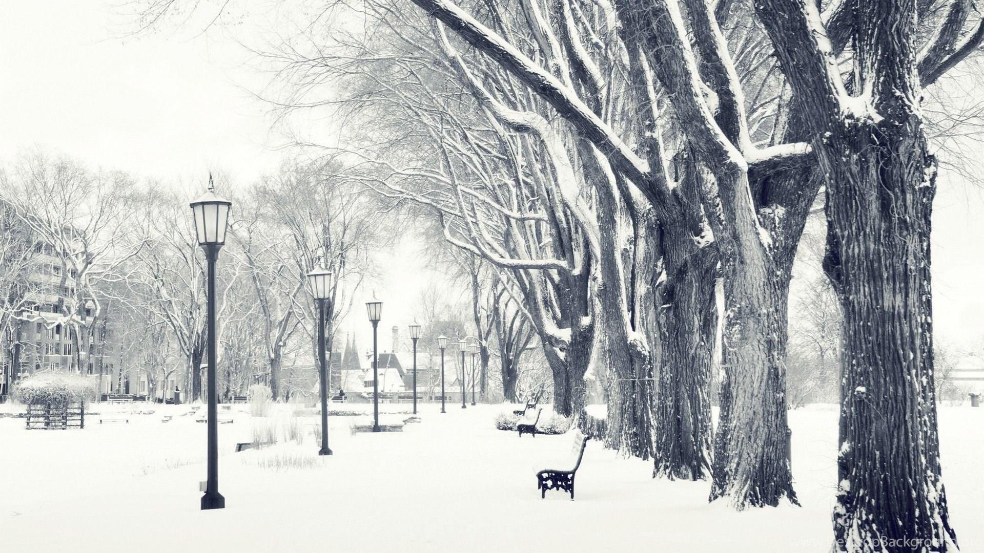 snow falling hd wallpapers desktop background
