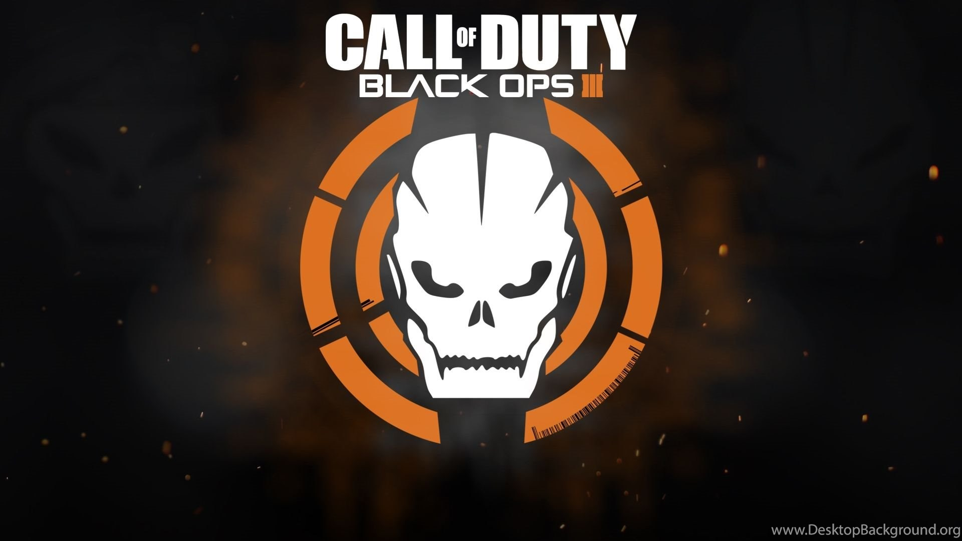 Call Of Duty Black Ops 3 Logo Wallpapers Desktop Background