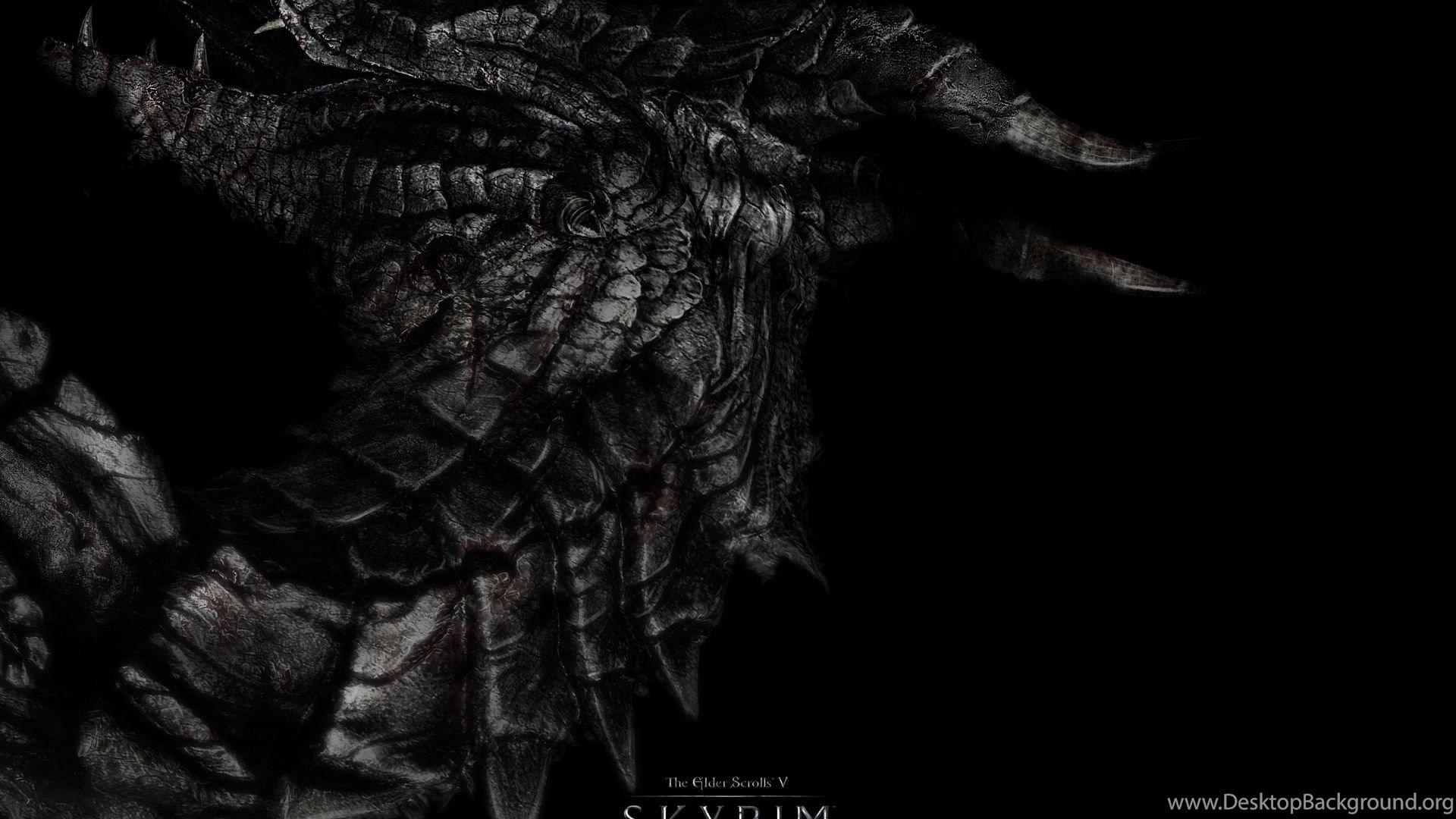 Download Wallpapers 1920x1080 Dragon Skyrim The Elder Scrolls V