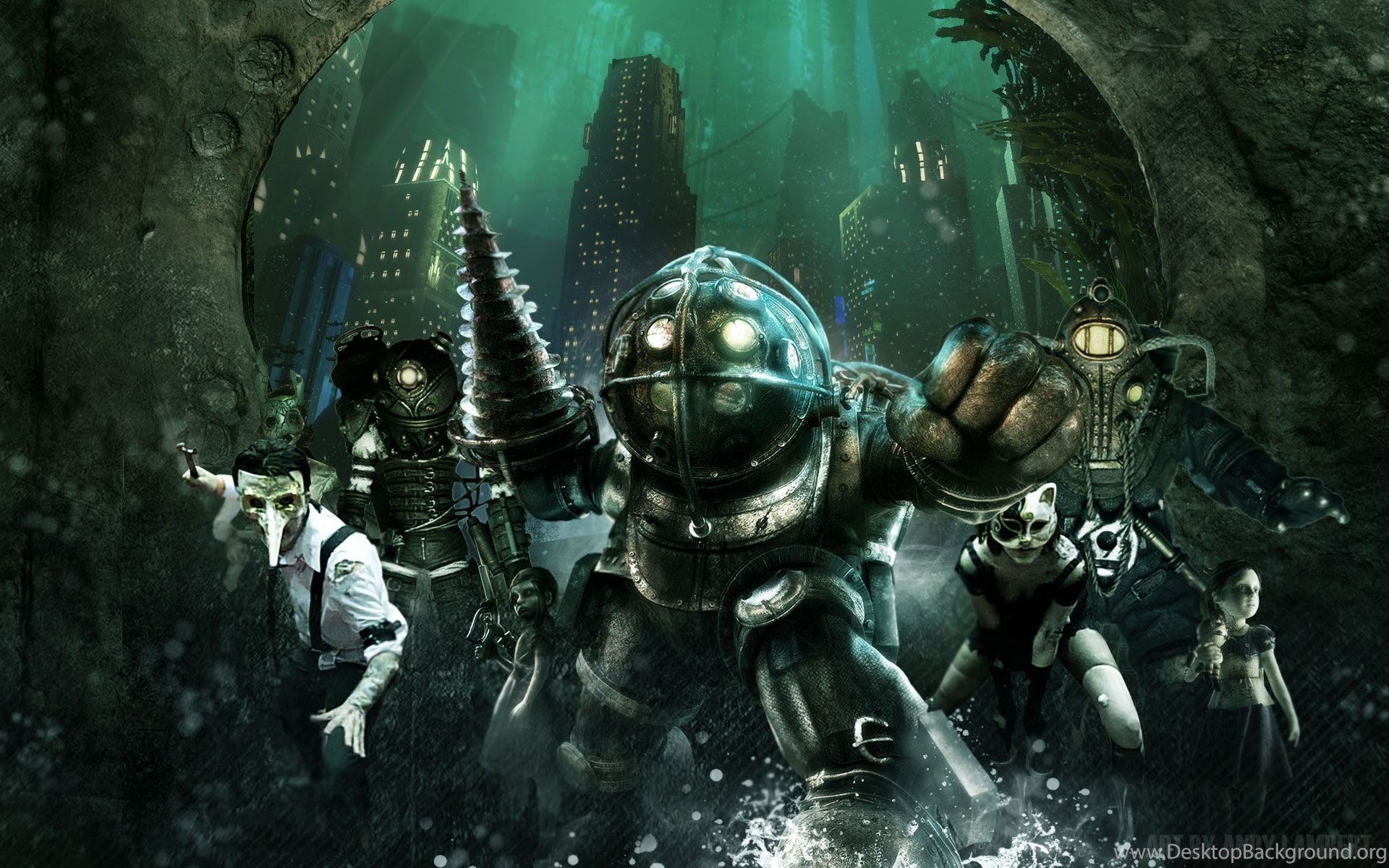 Bioshock Wallpapers Desktop Background