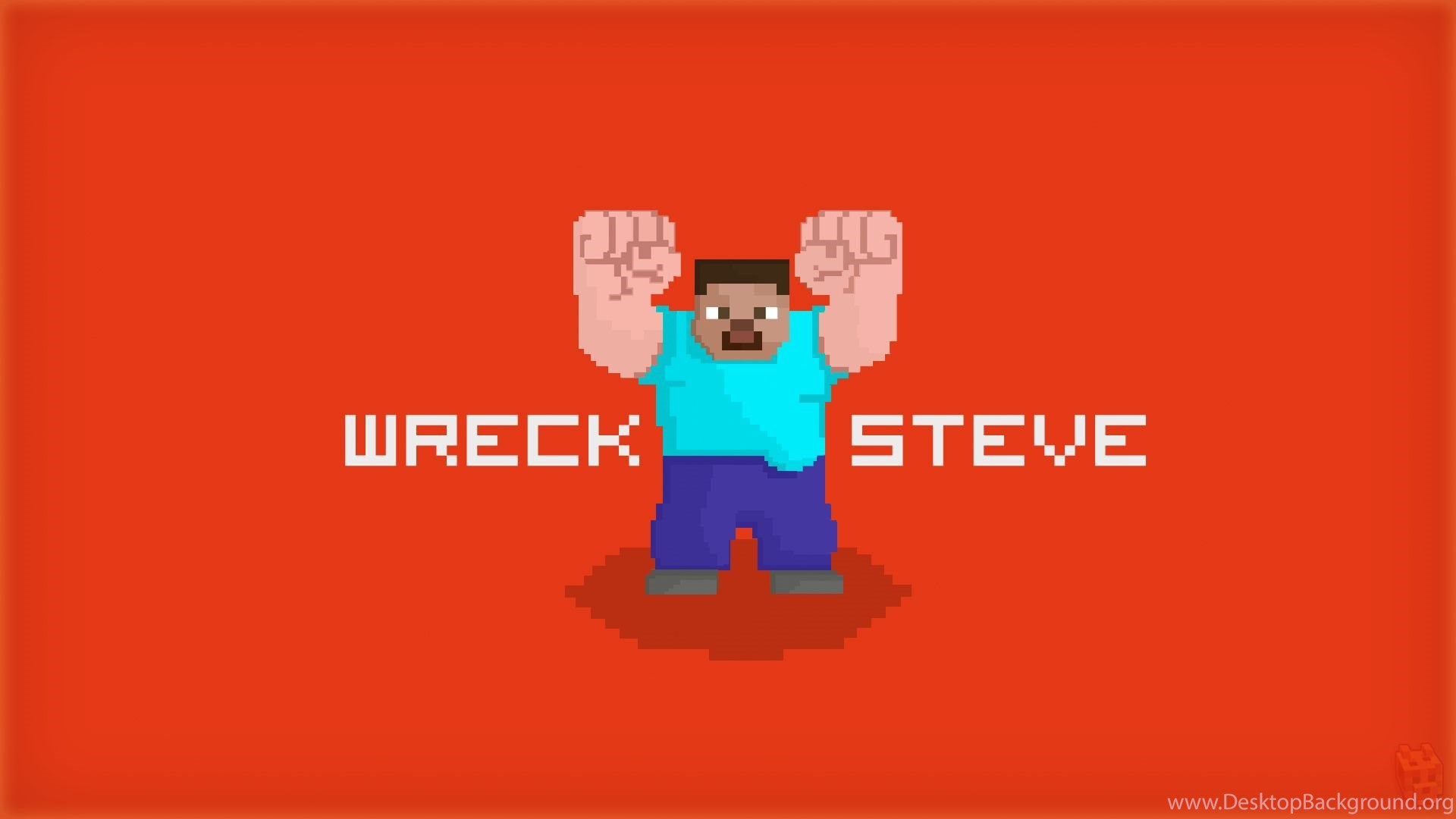 Wreck It Ralph Minecraft Wallpaper Jpg Desktop Background