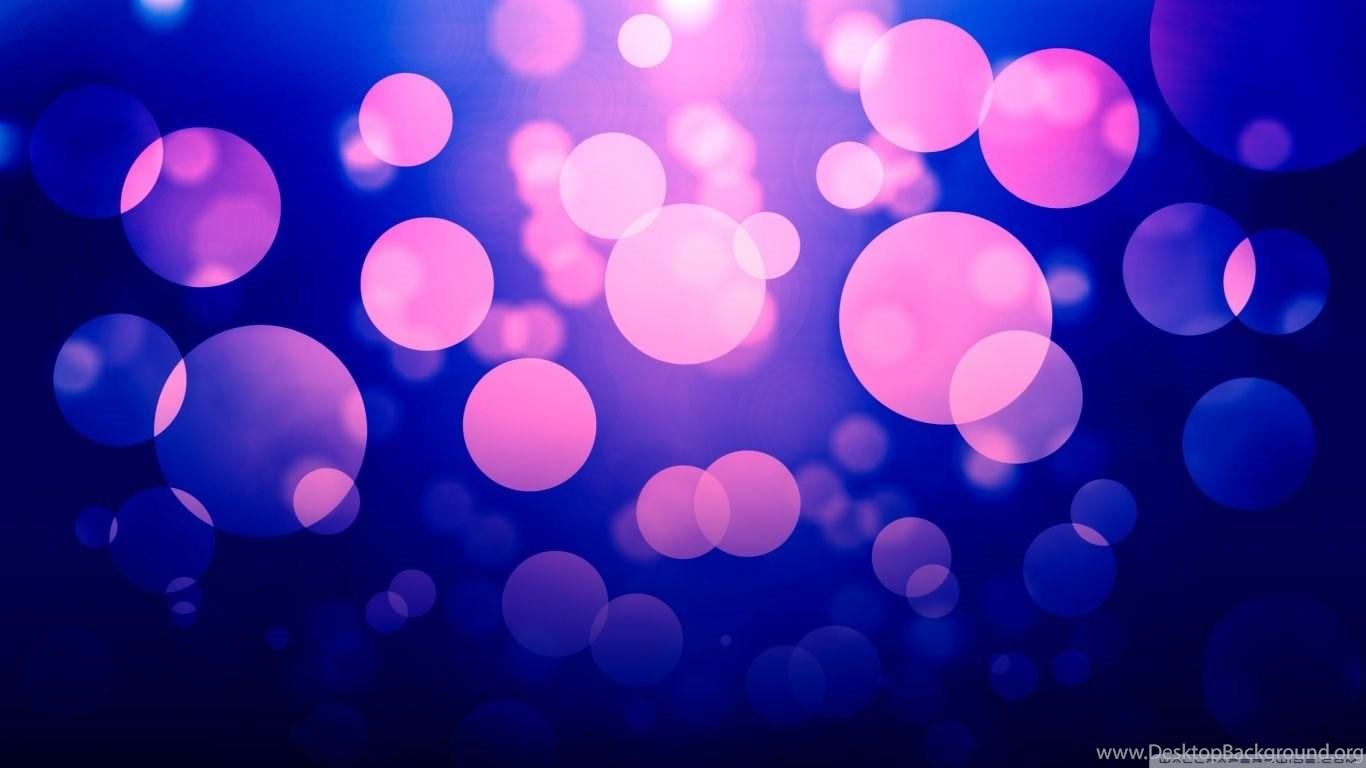 Purple Bokeh HD Desktop Wallpapers : High Definition : Fullscreen