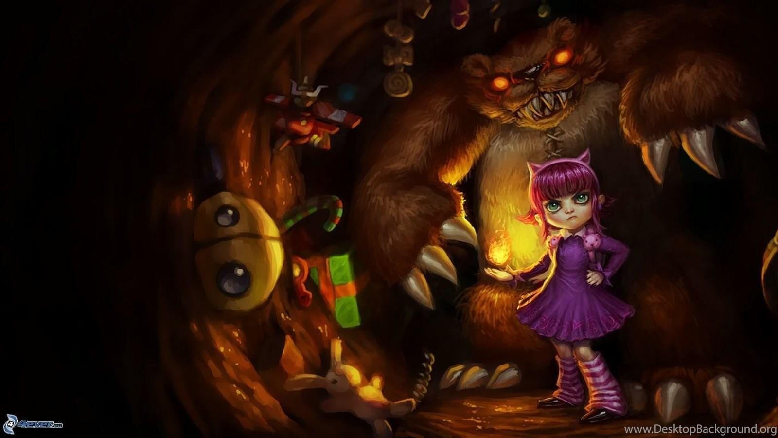 Annie League Of Legends Wallpaper Full HD LOL 3