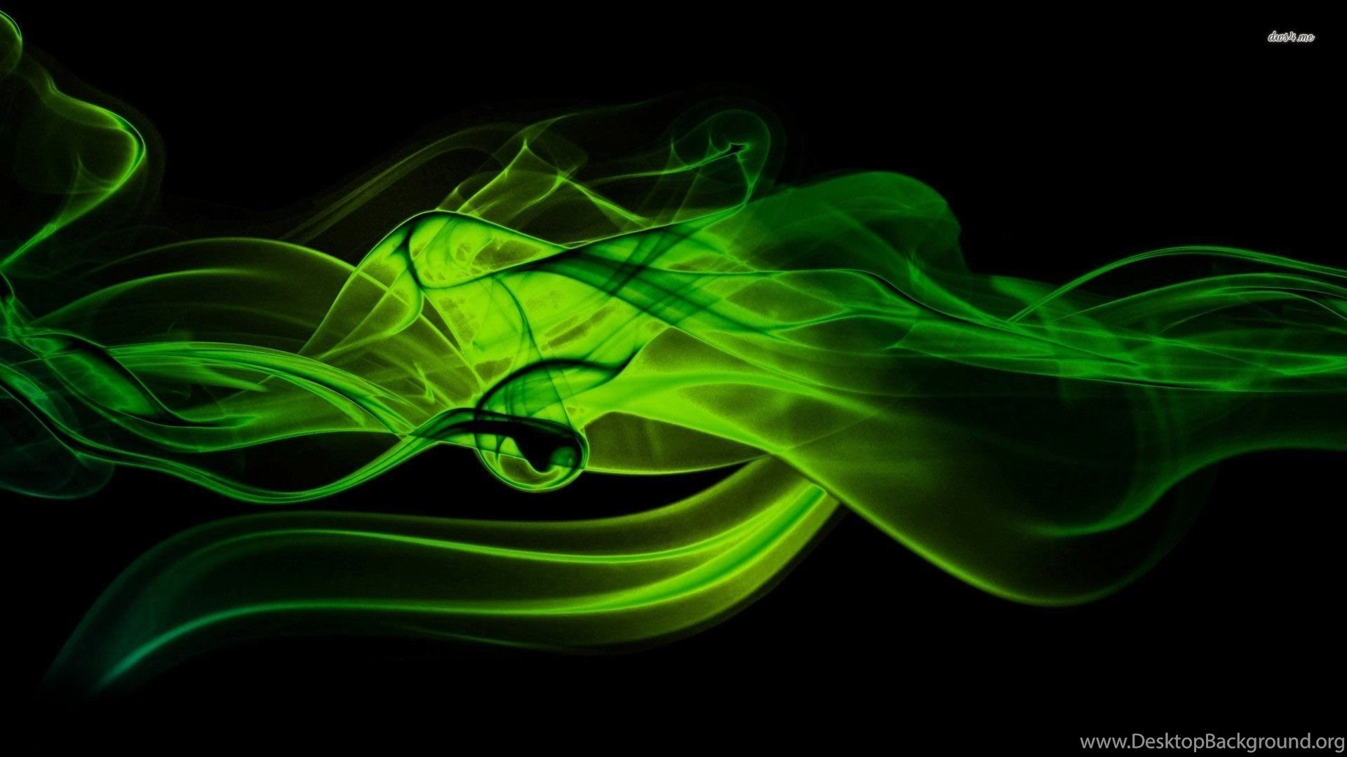 Green Smoke Wallpapers Abstract Wallpapers Desktop Background
