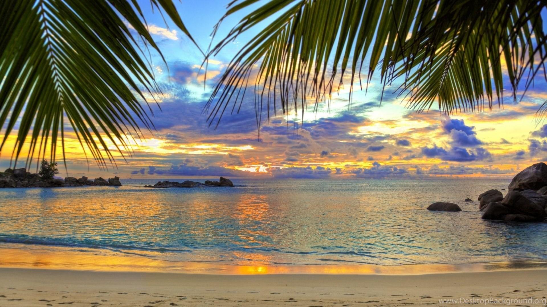 Desktop Backgrounds Hd Beach