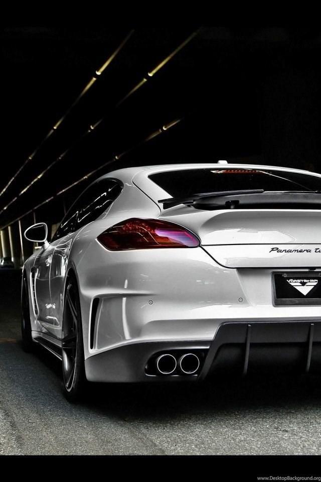 640x960 Vorsteiner Porsche V Pt Panamera Rear Angle Iphone 4