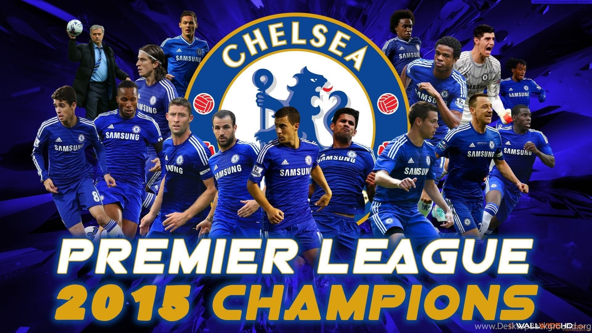 Chelsea FC 2014 2015 Barclays Premier League Champions Wallpapers