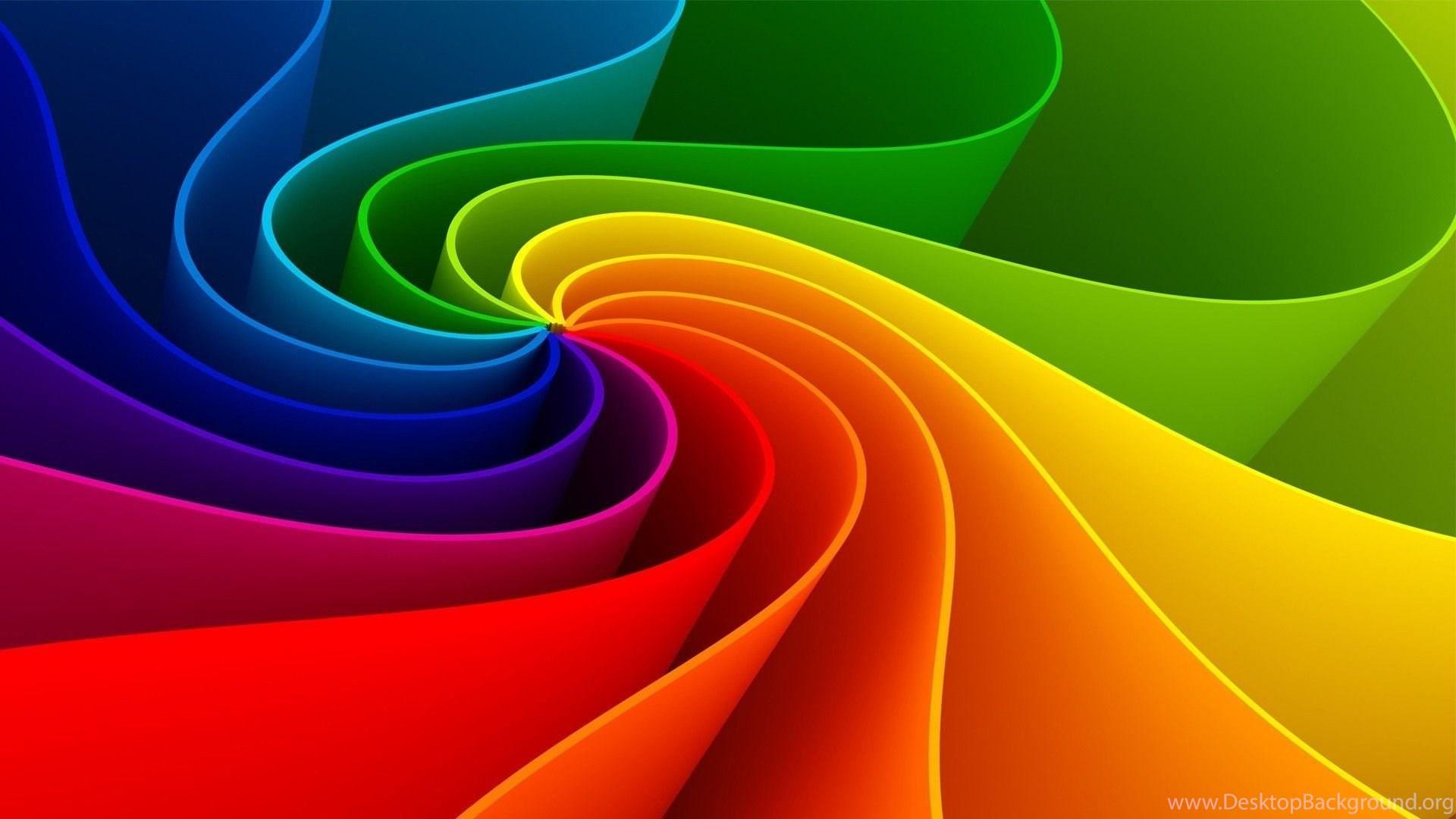Beautiful Rainbow Colors Wallpapers Toptenpack Com Desktop Background