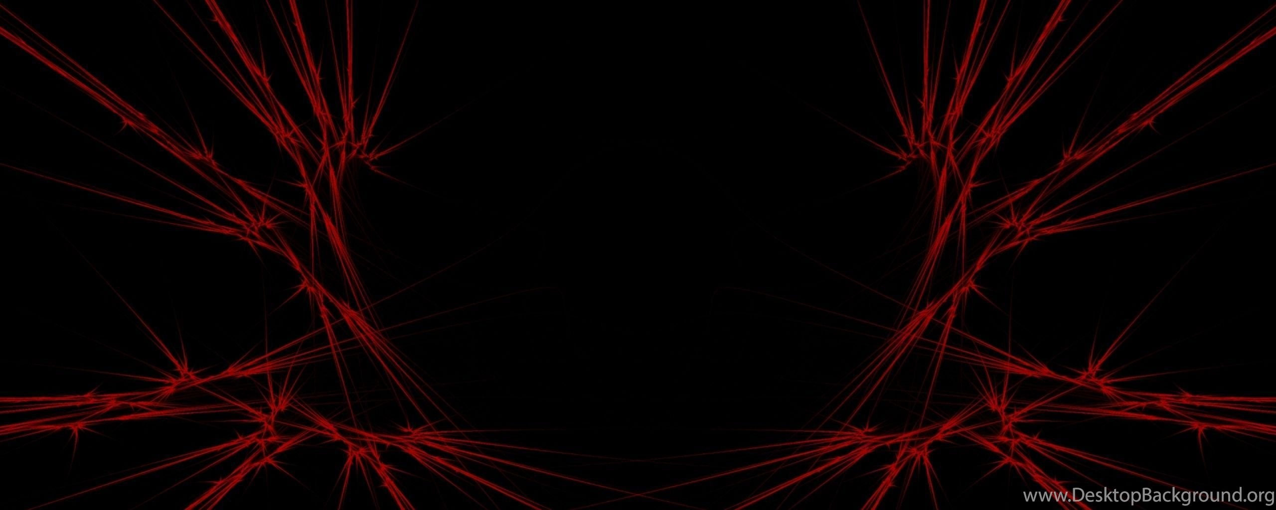 download wallpapers 2560x1024 red  black  abstract dual monitor     desktop background