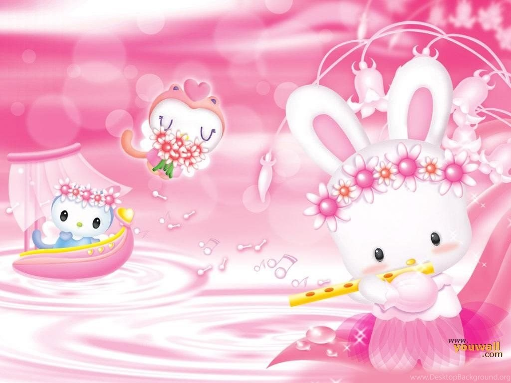 Cute Pink Wallpapers For Girl Desktop Background