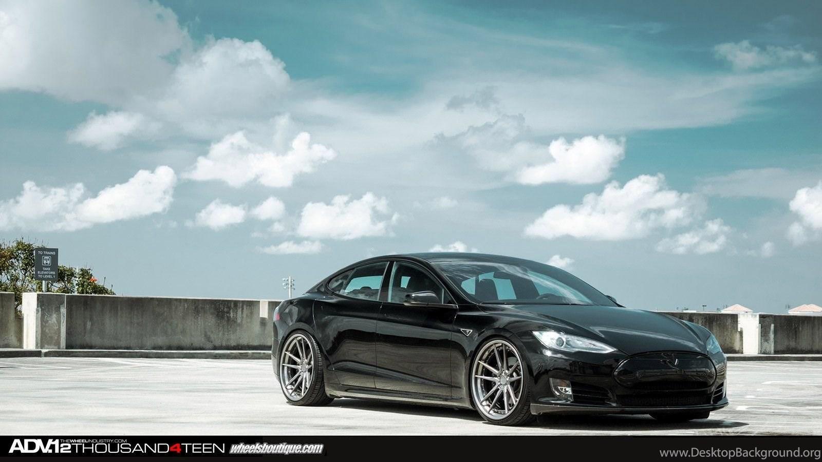 Adv1 Supercar Tuning Whells Tesla Model S Wallpapers Desktop
