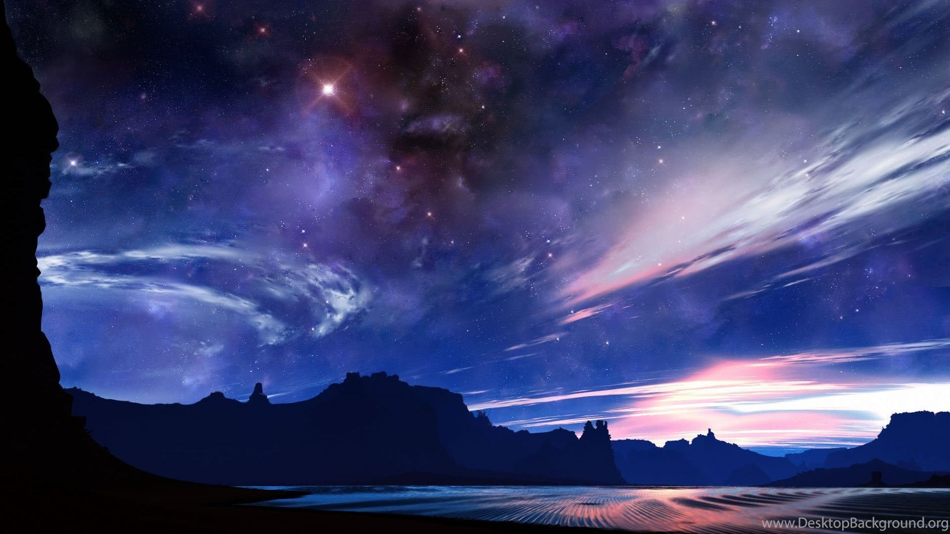 Night Sky Wallpapers Hd Resolution Desktop Background