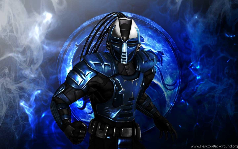 Mortal Kombat 9 Cyber Sub Zero Wallpaper Desktop Background