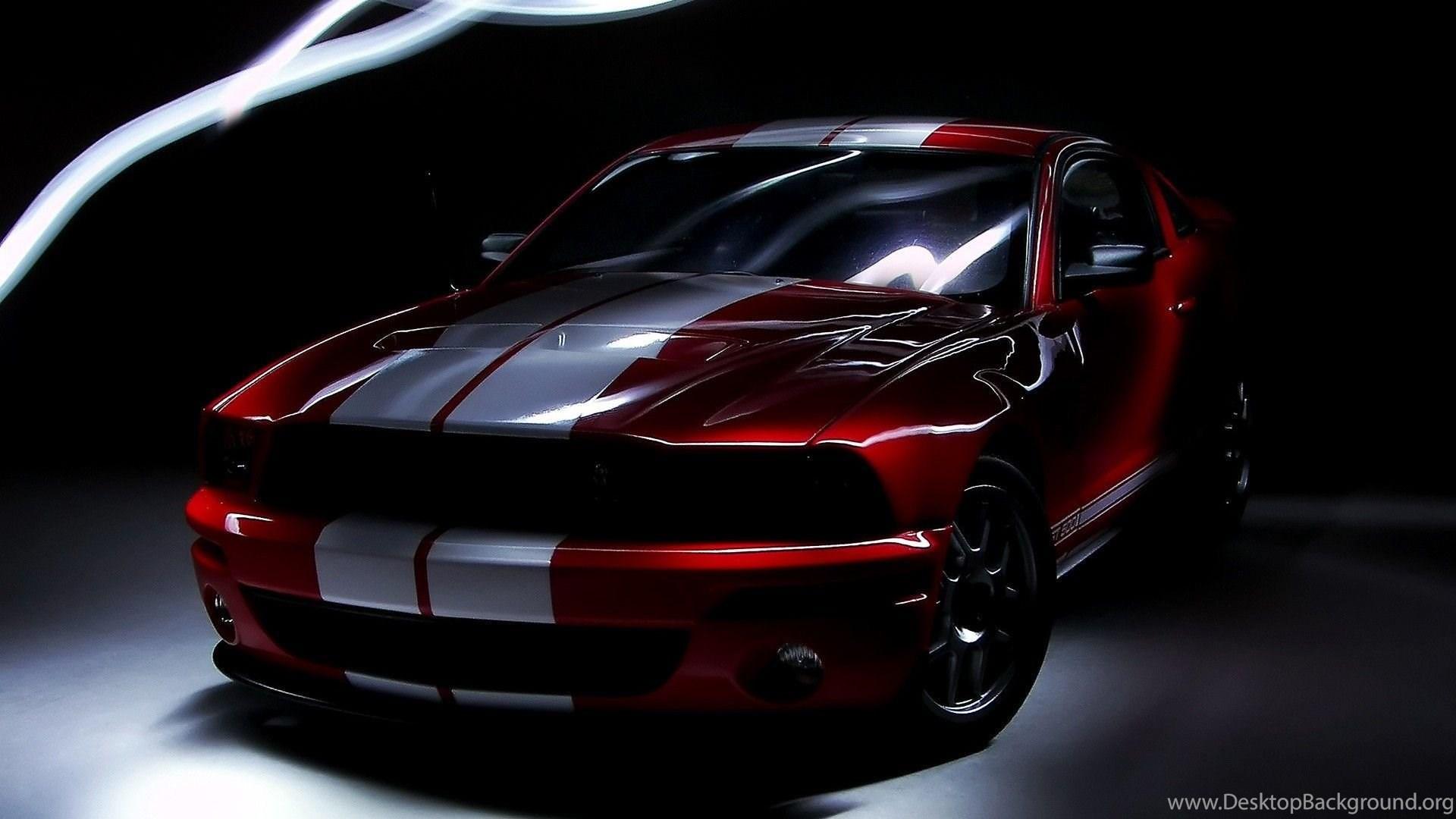 Black Ford Mustang Gt Wallpapers Desktop Background