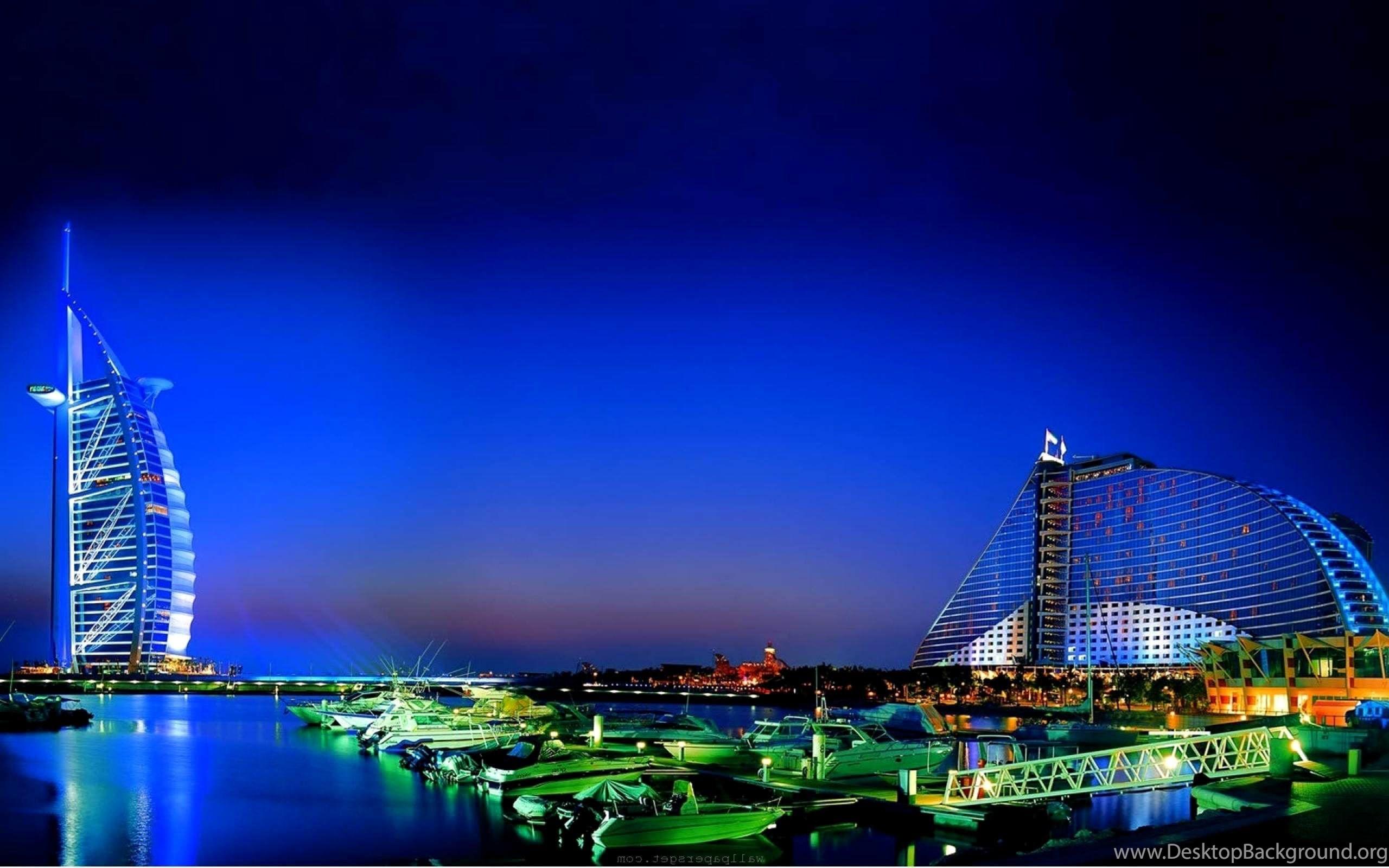 Dubai City Hd Wallpaper Backgrounds For Desktop Desktop Background