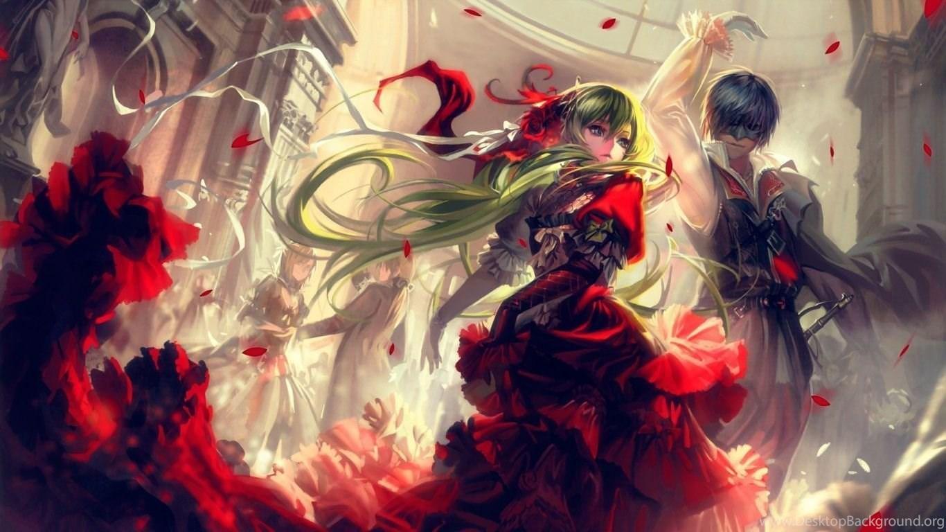 1366x768 Cantarella Anime Wallpapers Desktop Background