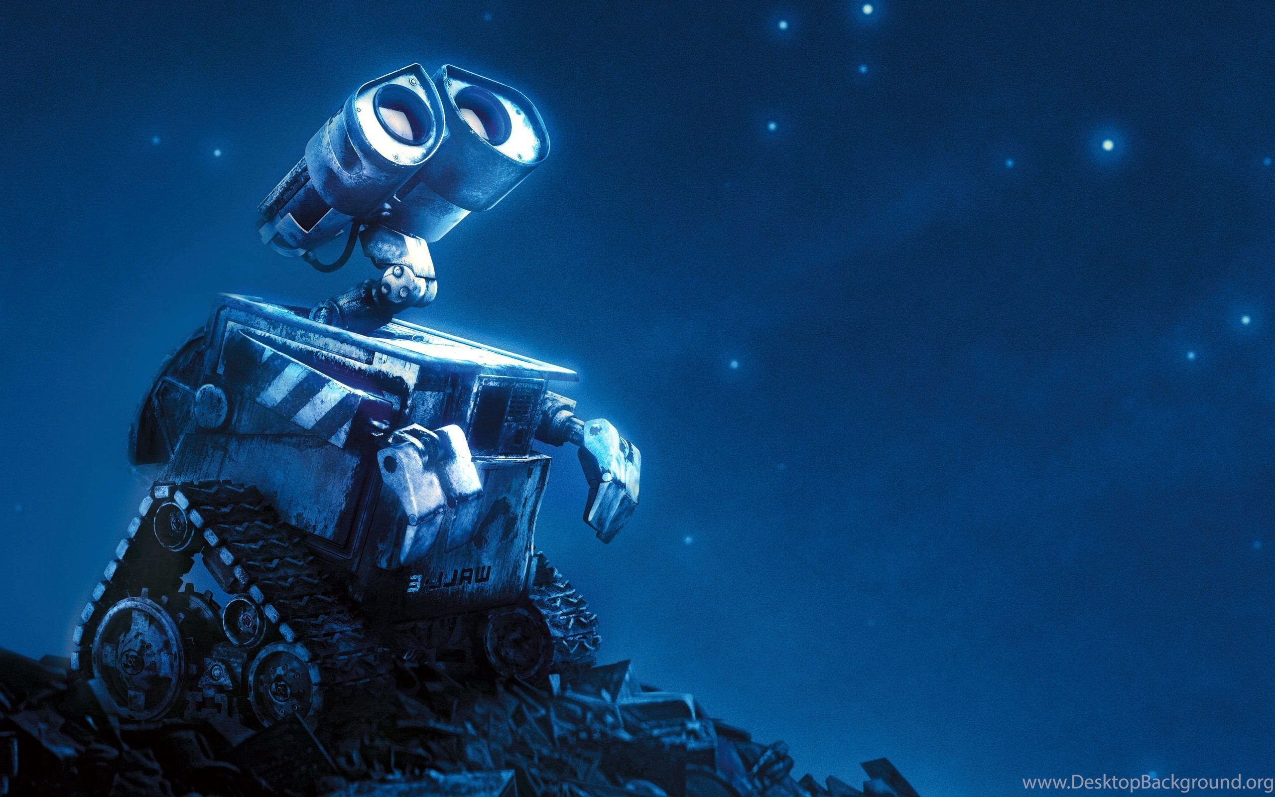 pixar animated movie wall e hd wallpaper desktop background