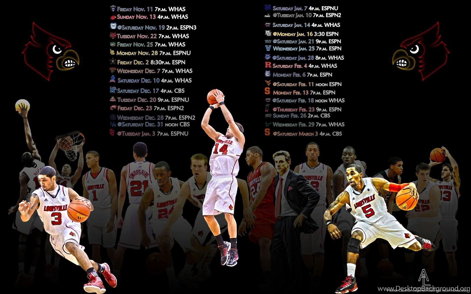 Cool Louisville Basketball Wallpapers HD Desktop Background
