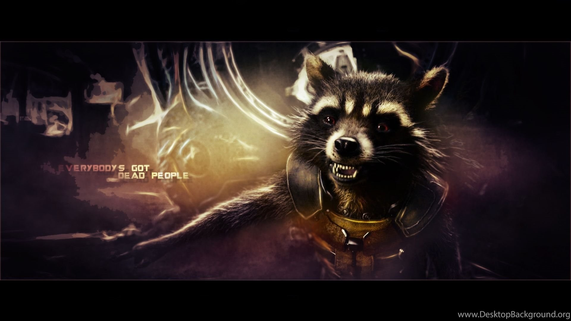 Rocket Raccoon Guardians Of The Galaxy Wallpapers By Biigm On