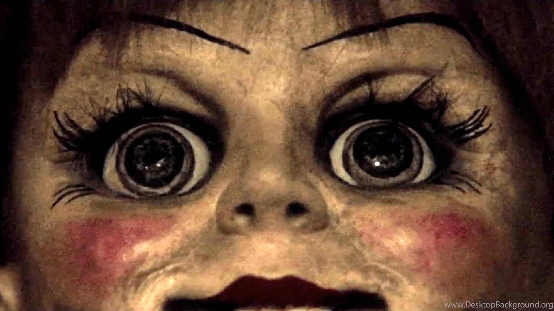 annabelle doll horror wallpapers hd desktop background