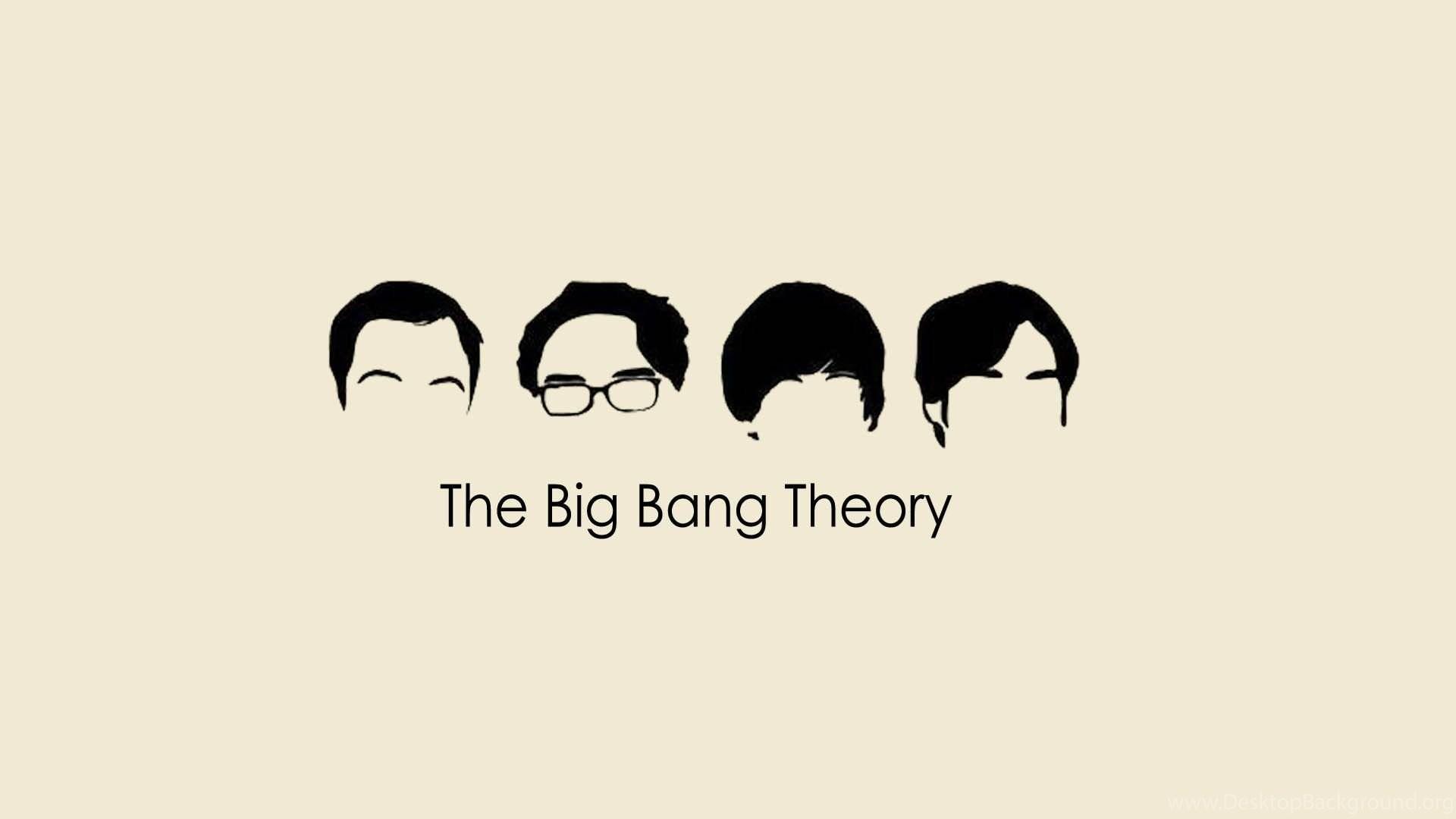 The Big Bang Theory Minimalist Hd Wallpaper Jpg Desktop Background