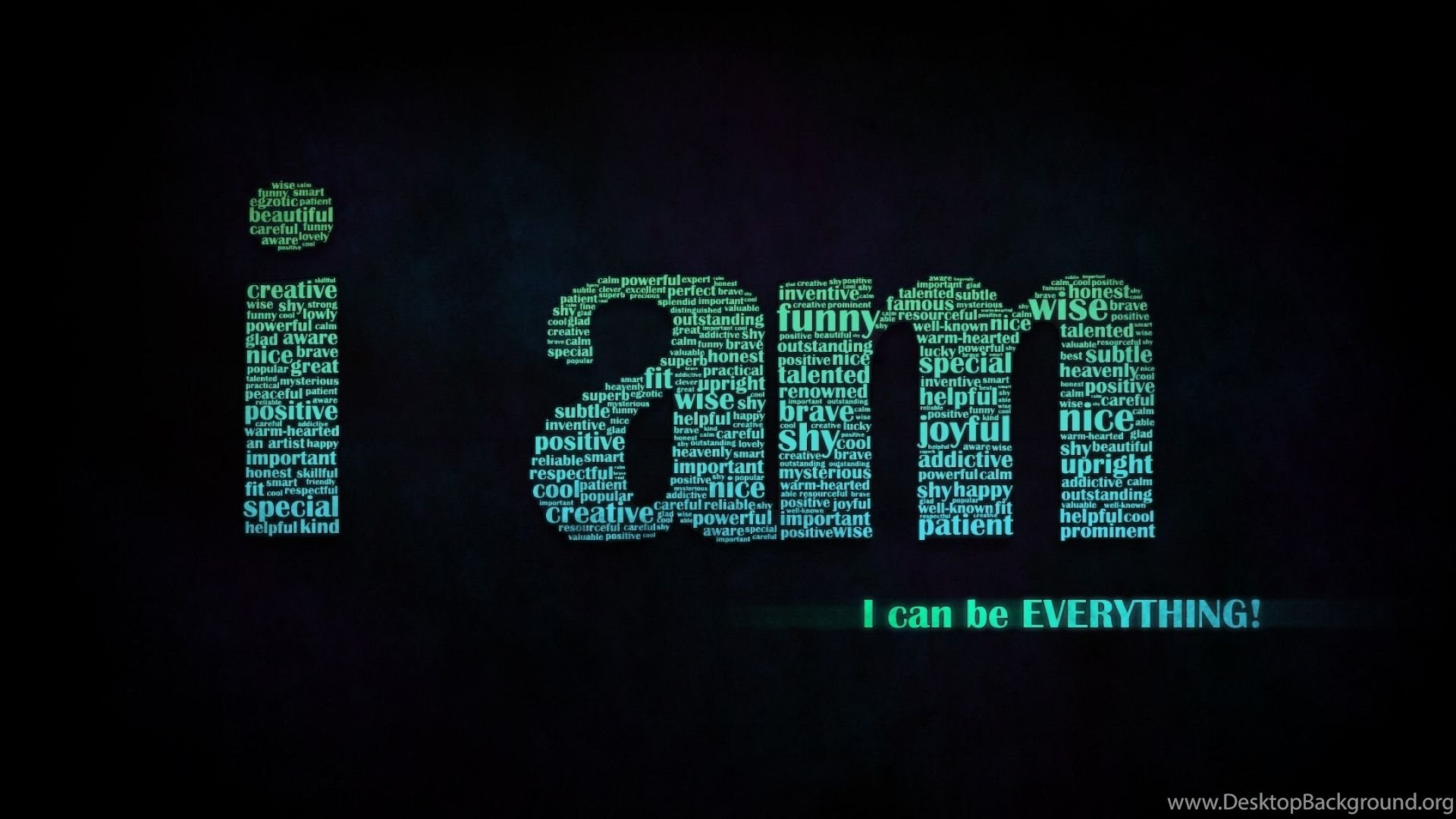 Download Wallpapers 1920x1080 Inscription Black Green Letters