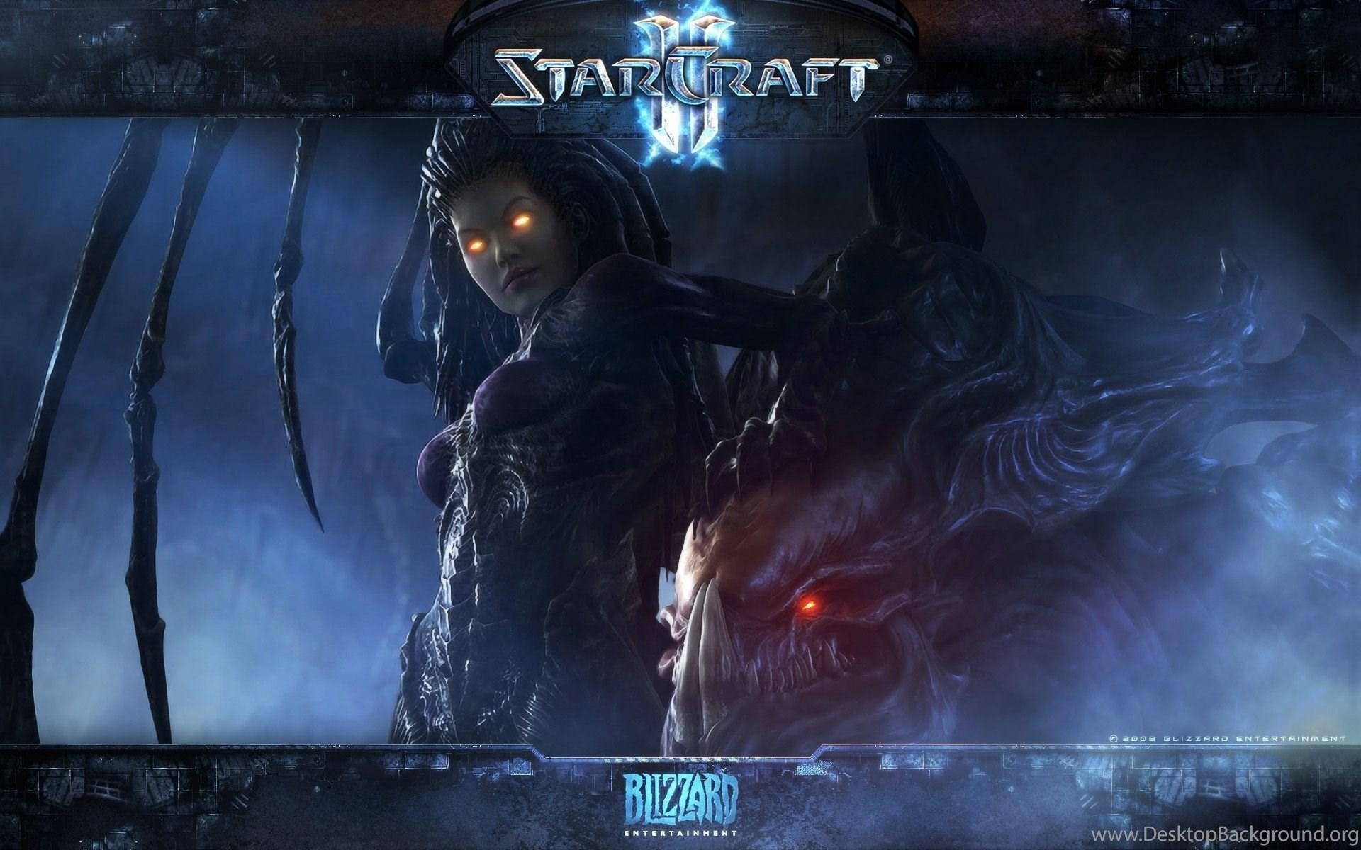 Beautiful Starcraft II Wallpapers Best Of Hongkiat Desktop