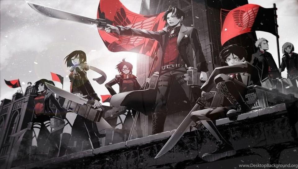 DeviantArt More Like Shingeki No Kyojin Anime PSVITA Wallpapers By Desktop Background