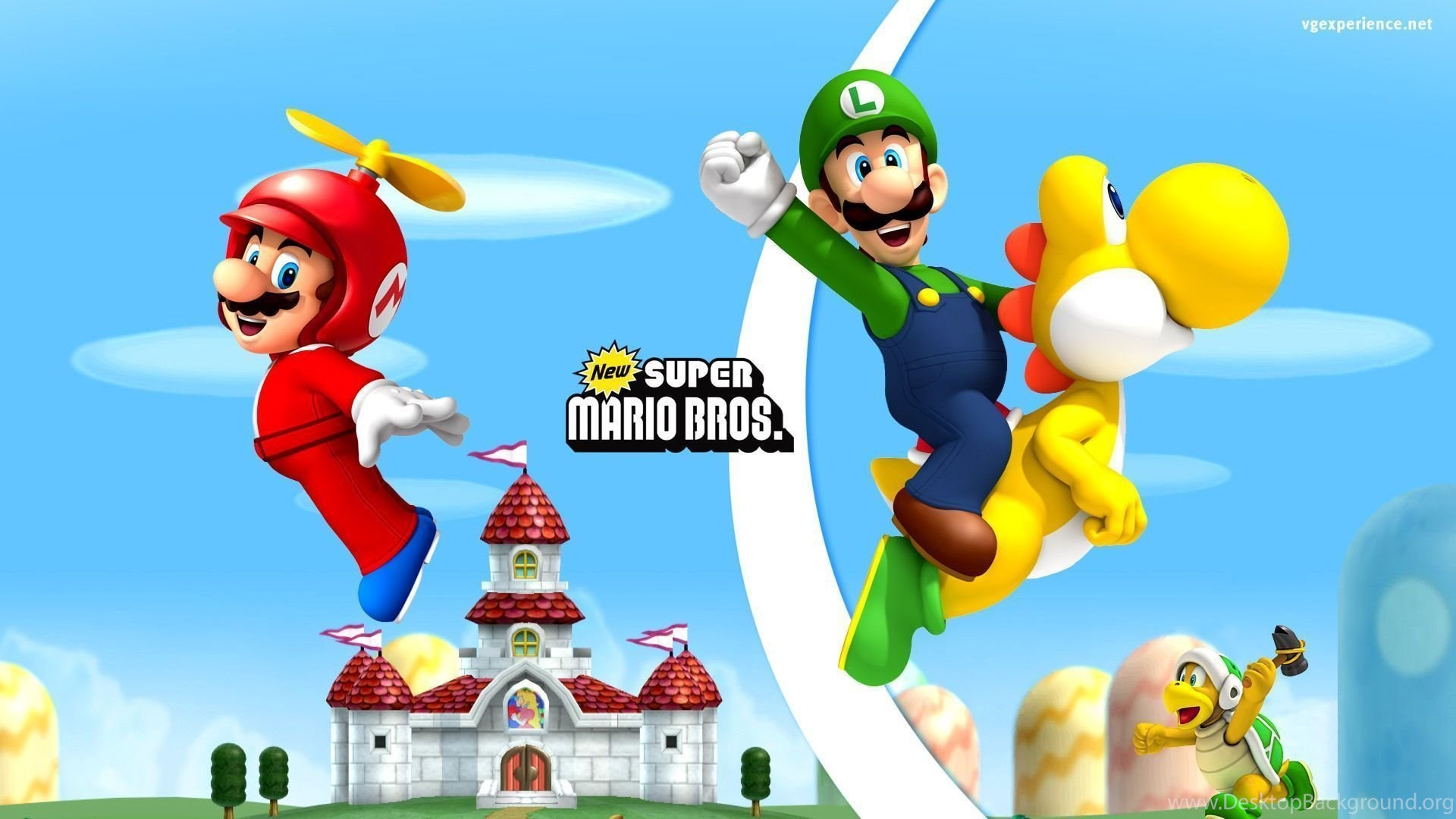 Hd Quality New Super Mario Bros Wallpapers Hd 5 Siwallpapers 7828