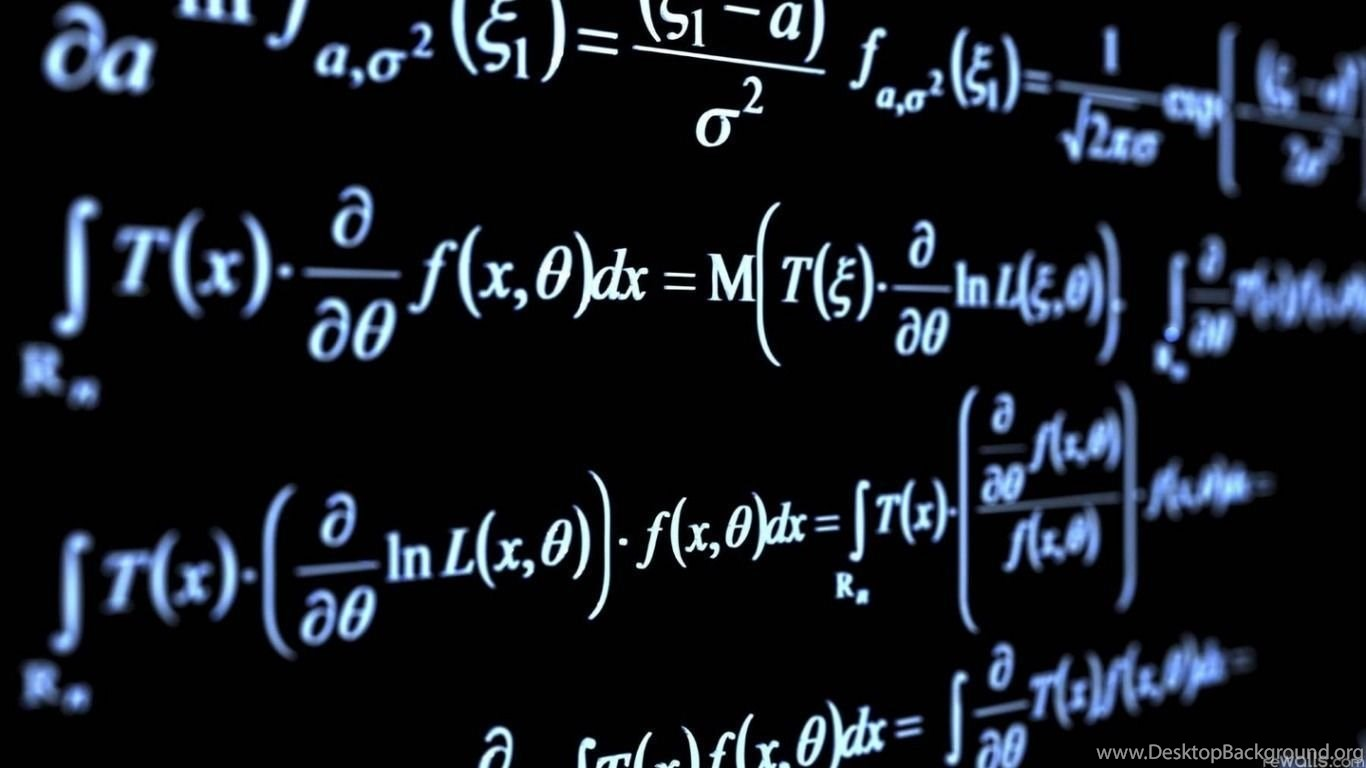 Math Physics Equation Wallpapers Desktop Background