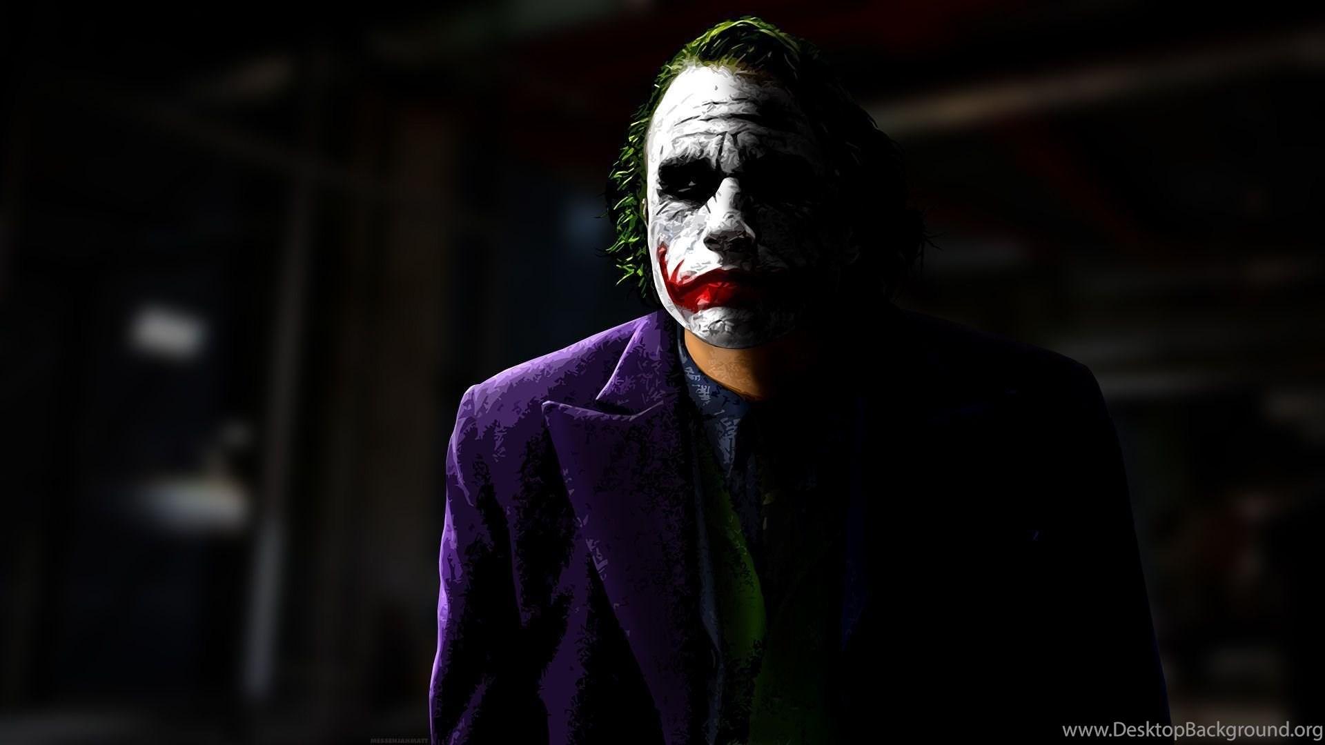 Dark Knight Joker Wallpapers Desktop Background