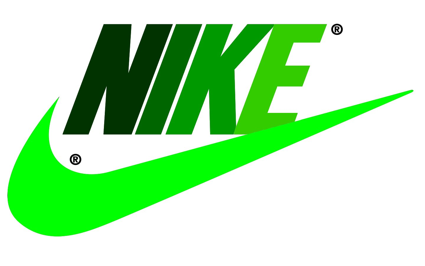 Green lime nike logo wallpaper recommend to wear for everyday in 2019