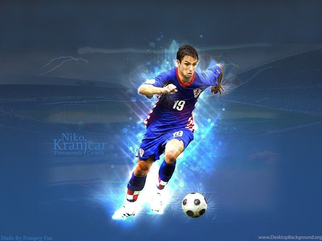 Free Download Hd Pics Football Girls Croatian Player Niko Kranjcar Desktop Background
