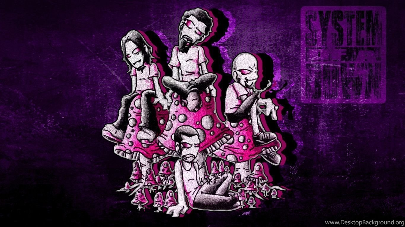 Wallpapers System Of A Down Mushroom Cult By Isaacklein On