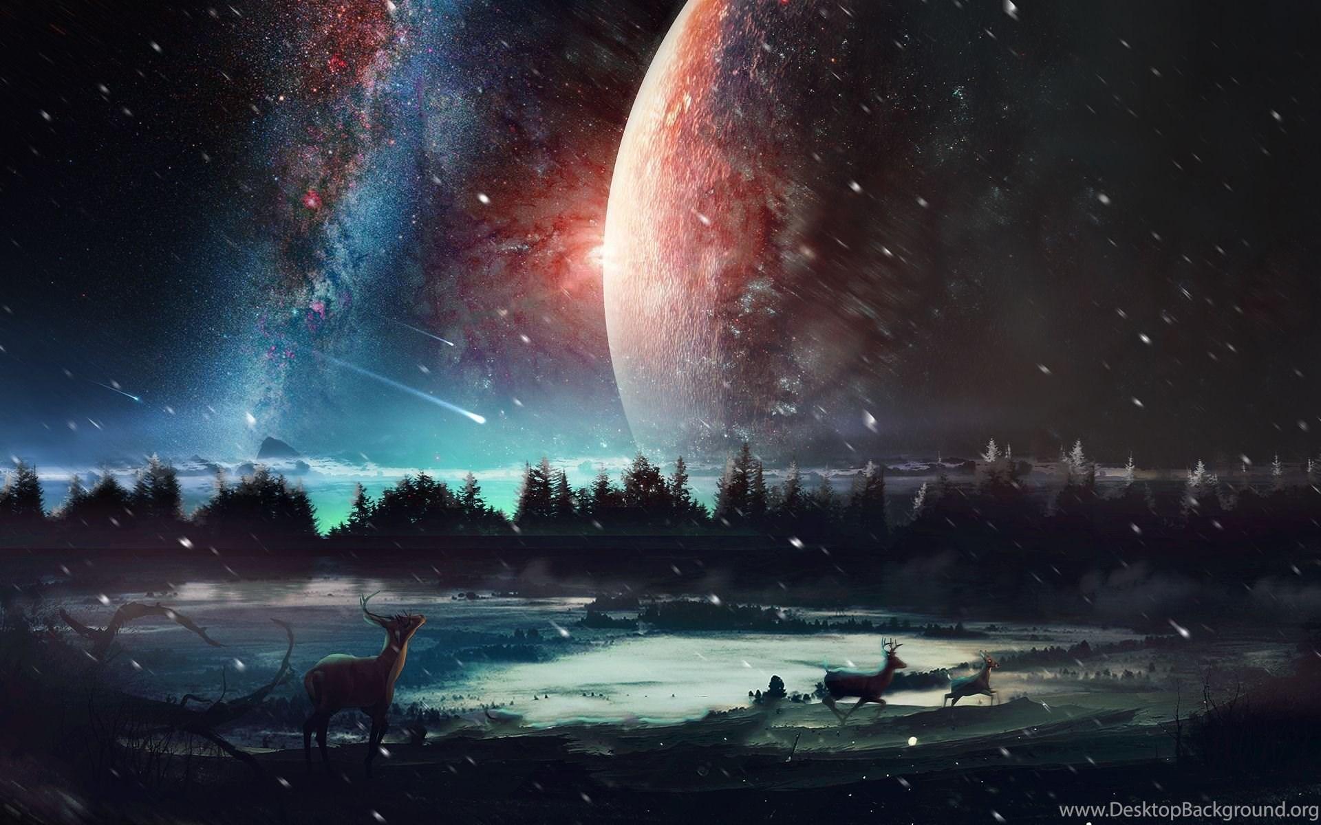 Hd Wallpaper Desktop Universe