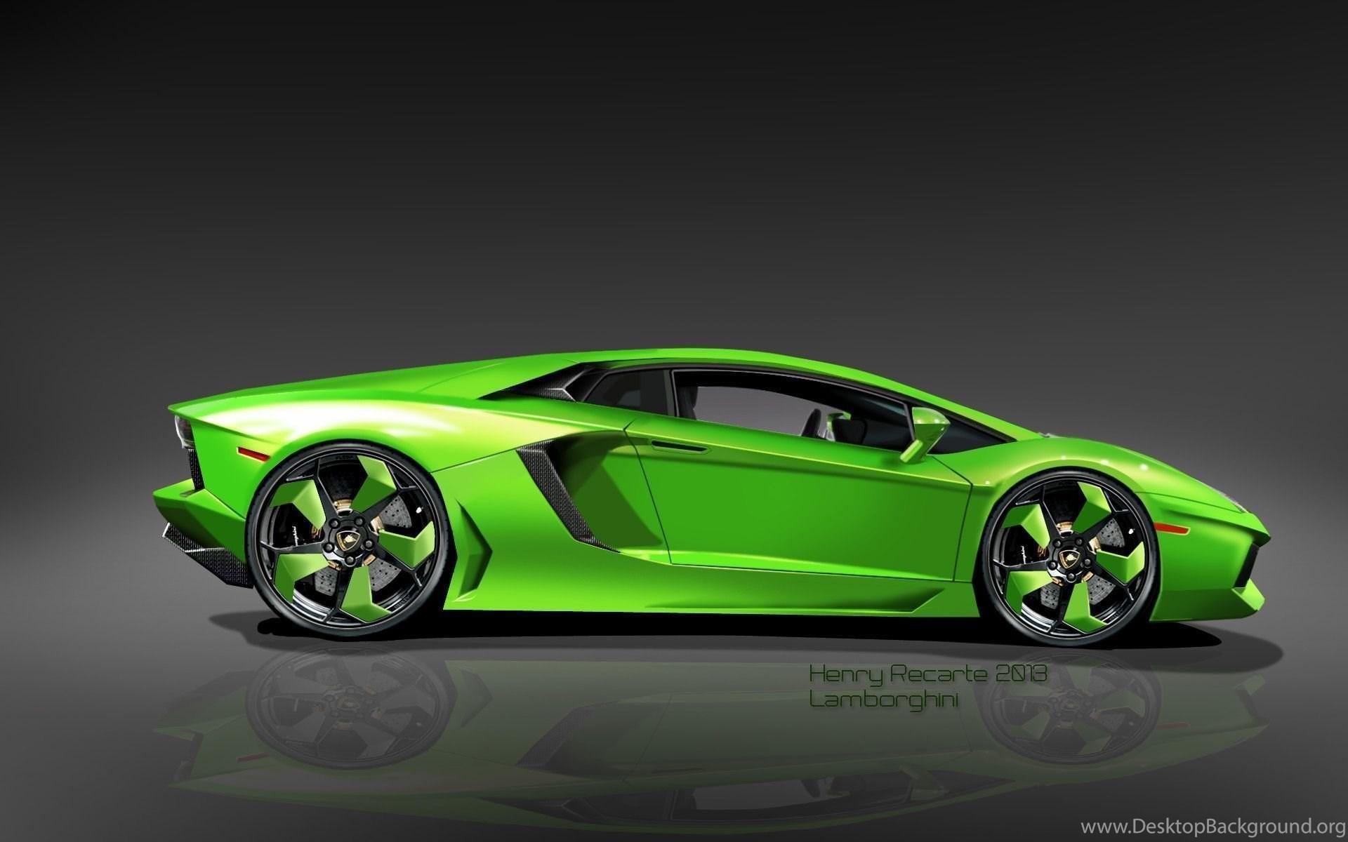 Green Lamborghini Wallpapers High Quality • Cars ...