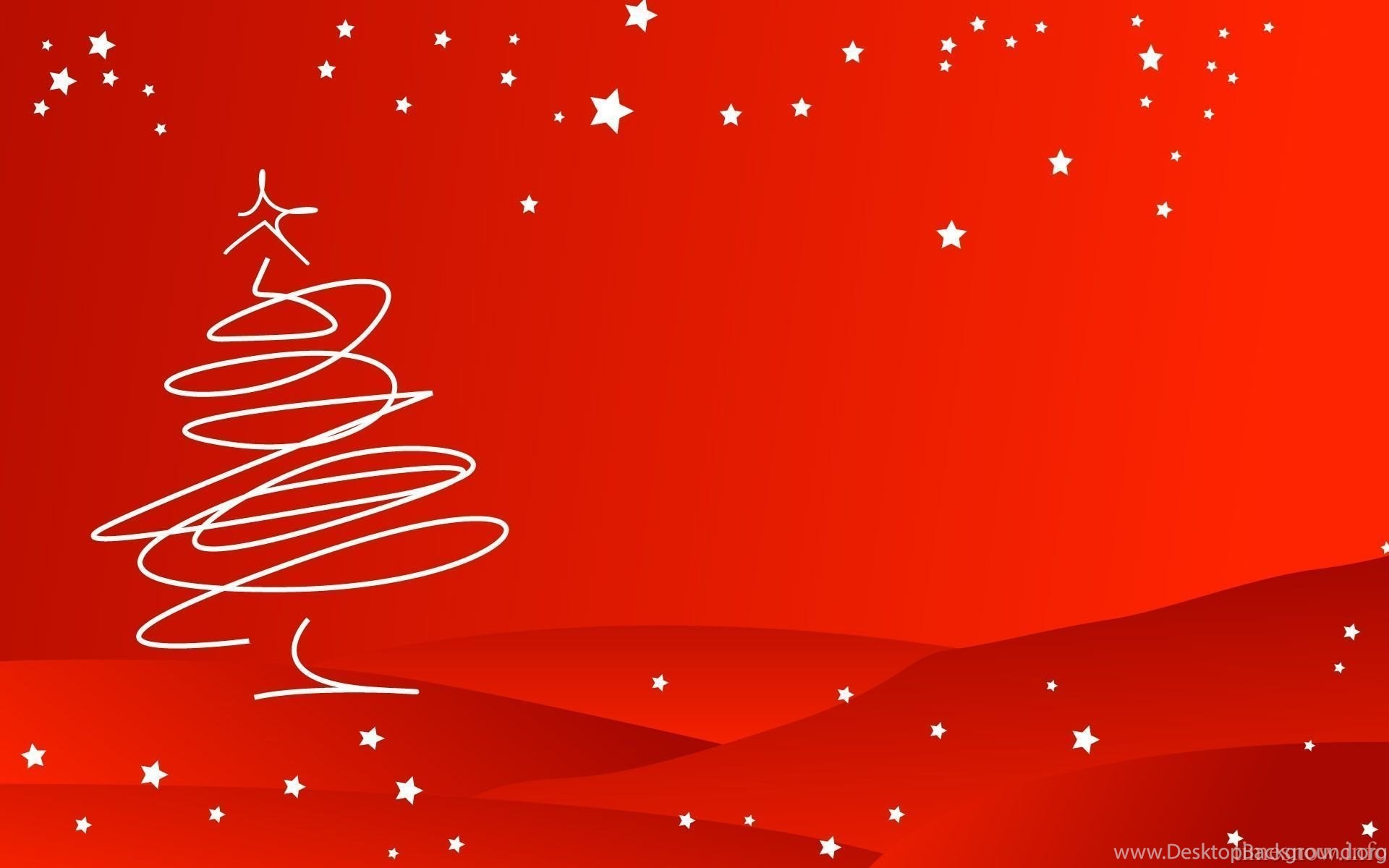 Red Christmas Backgrounds Happy Holidays Desktop Background