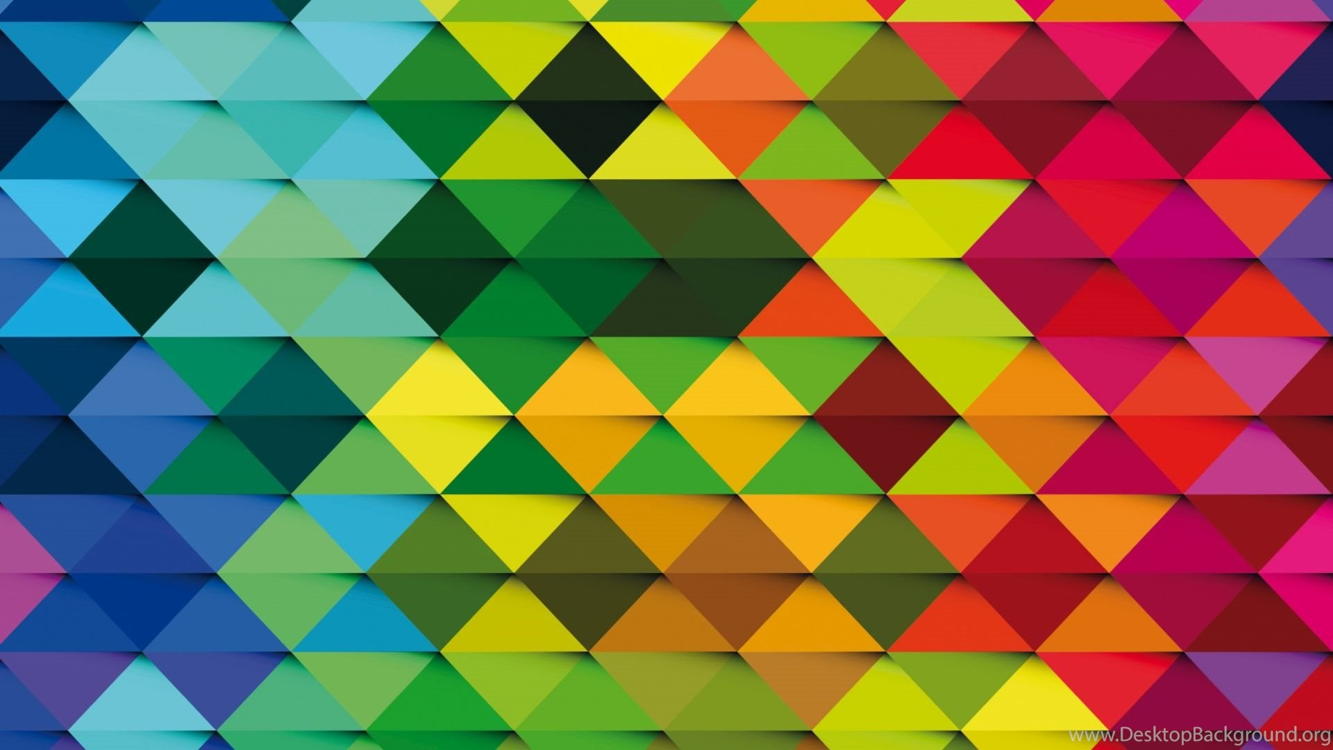 HD Backgrounds Colorful Triangle Design Texture Pattern Wallpapers ...