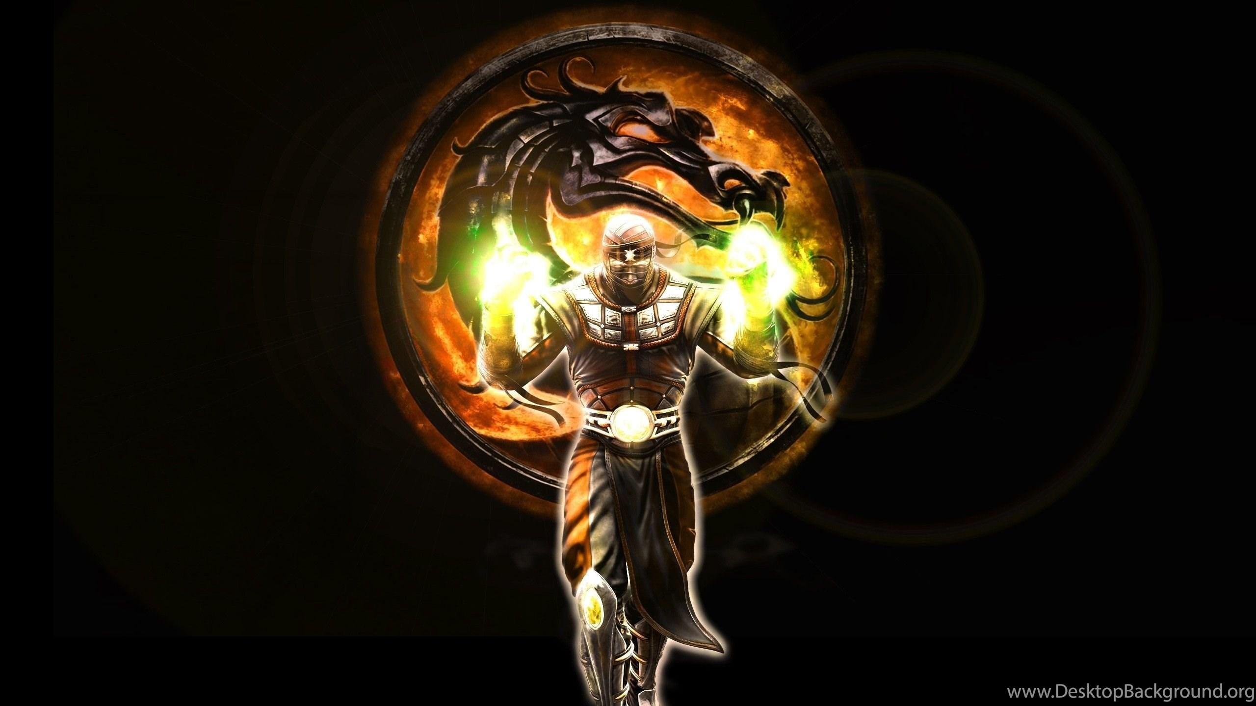 Free Download Full Hd Mortal Kombat Logo Wallpaper Hq Backgrounds