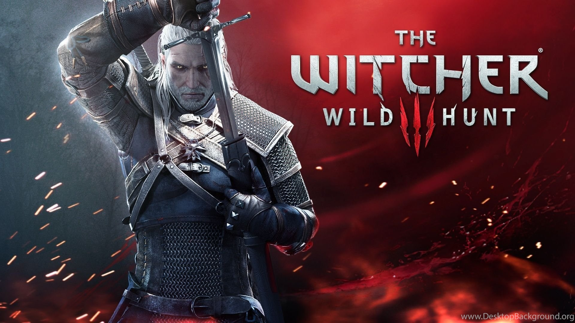 The Witcher 3 Wild Hunt Poster Wallpapers Hd Desktop Background