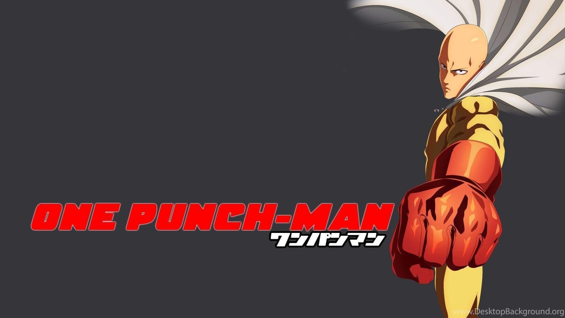 242 One Punch Man Hd Wallpapers Desktop Background