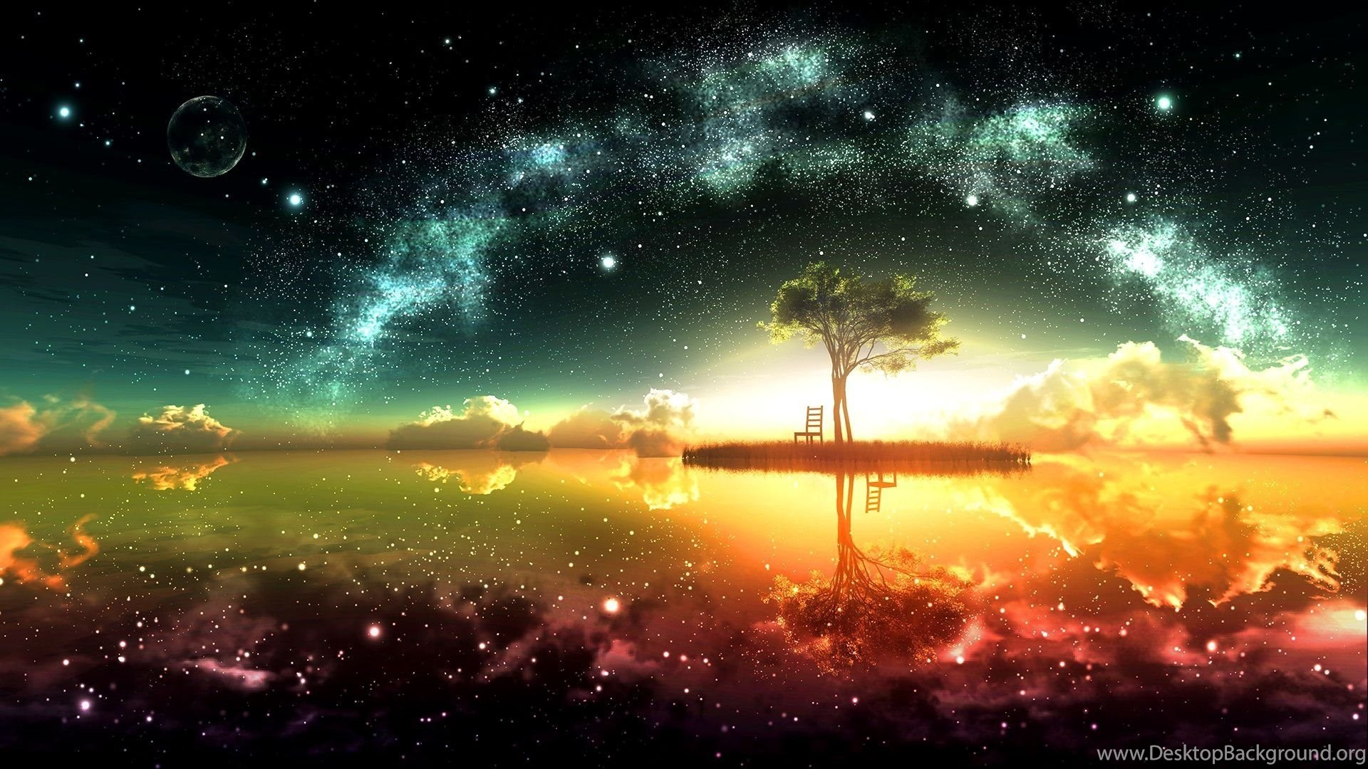 space ocean wallpapers high resolution and high definition hd