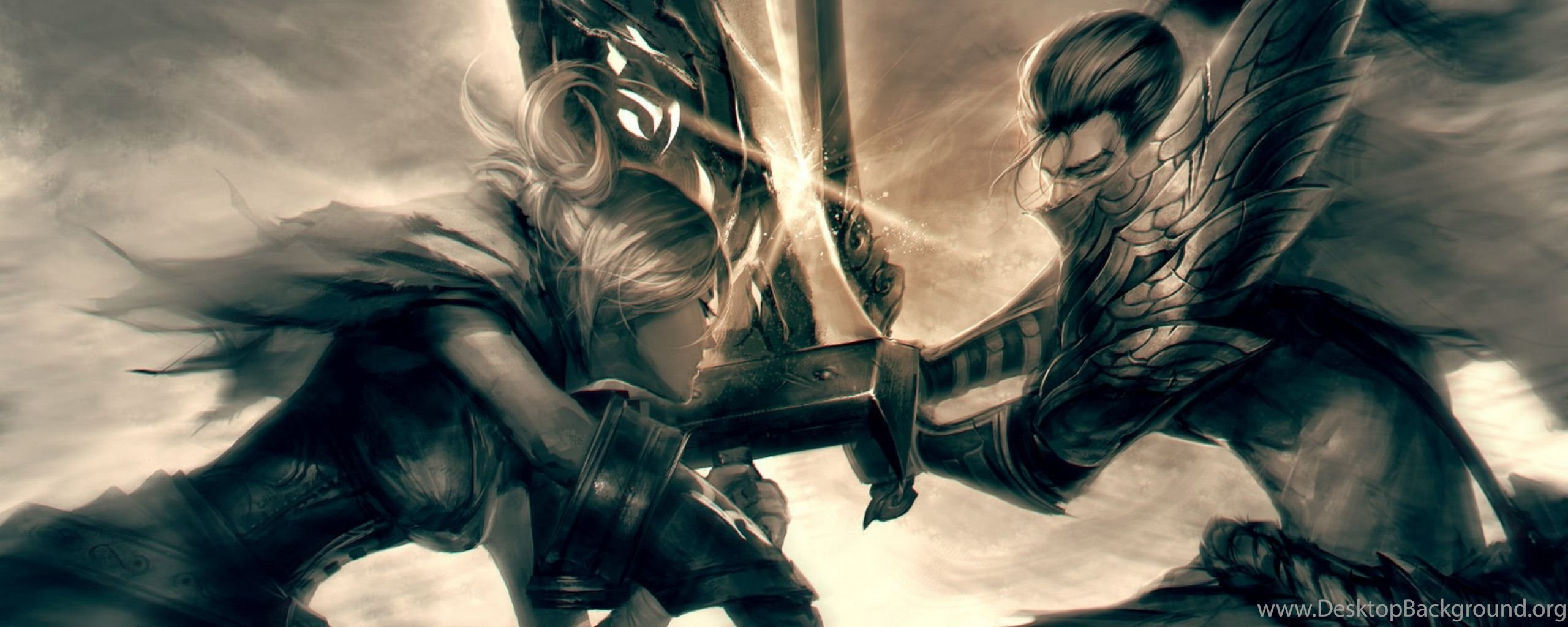 Dual Monitor Wallpaper League Of Legends: Dual Monitor Resolution League Of Legends Wallpapers HD