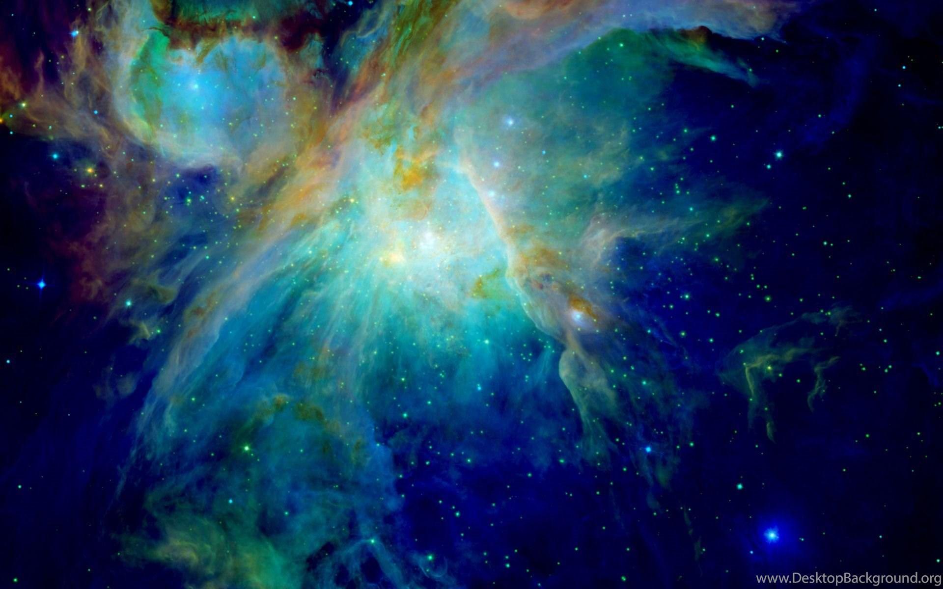 orion nebula in night sky - HD1920×1200