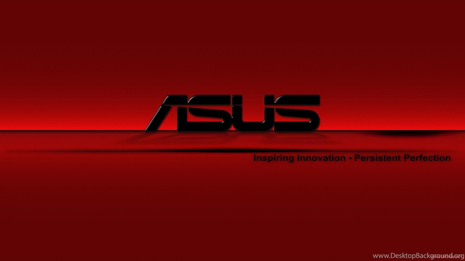 Red Asus Wallpaper: ASUS Logo On A Red Backgrounds Wallpapers And Images