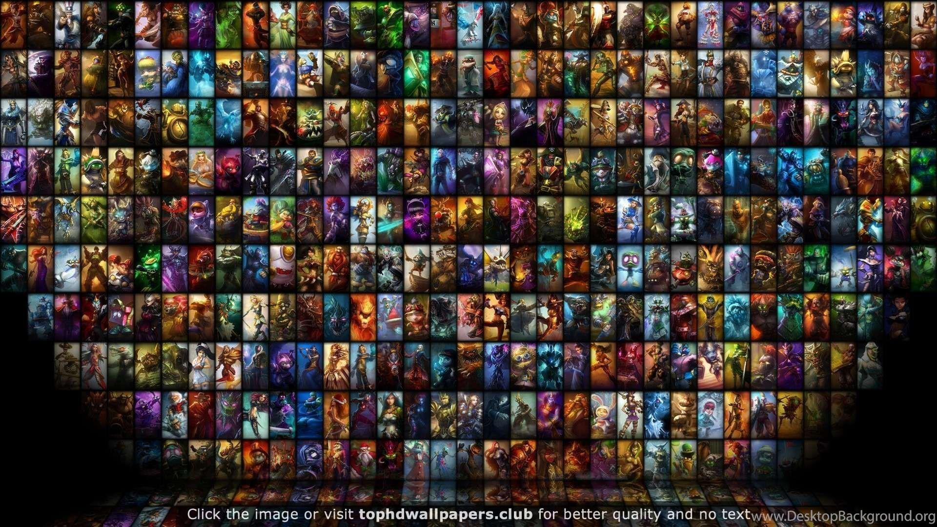 League Of Legends Hd 4K Or HD Wallpapers For Your PC, Mac Or Mobile