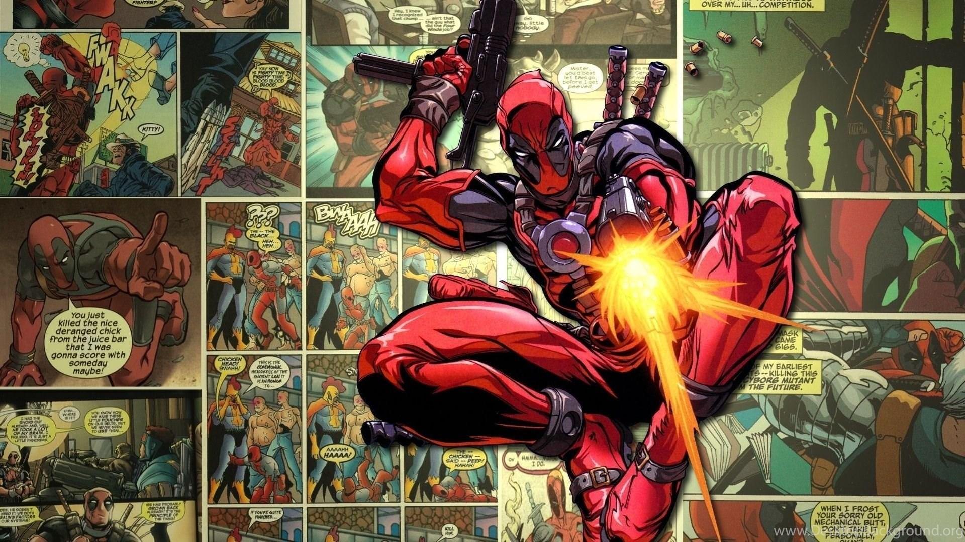 Deadpool Hd Wallpapers Desktop Background