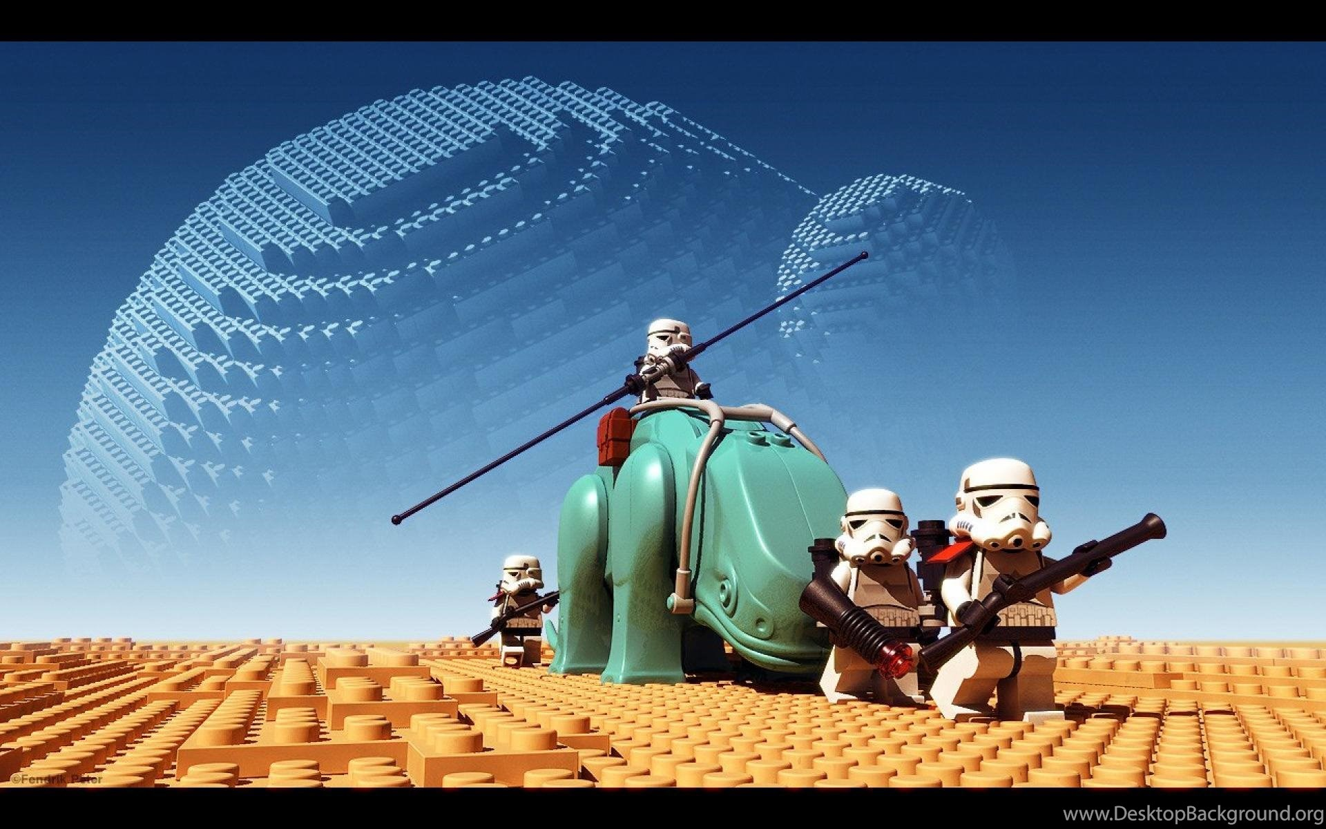 Lego Star Wars Awesome Hd Wallpapers Desktop Background