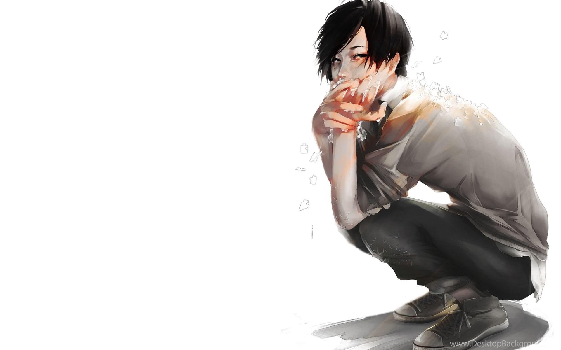 Chikage Kazama Anime Cool Boy Render Anime Art Texture