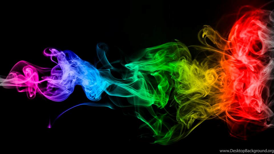 Free Illustration Smoke Colors Wallpapers Free Image On Desktop Background